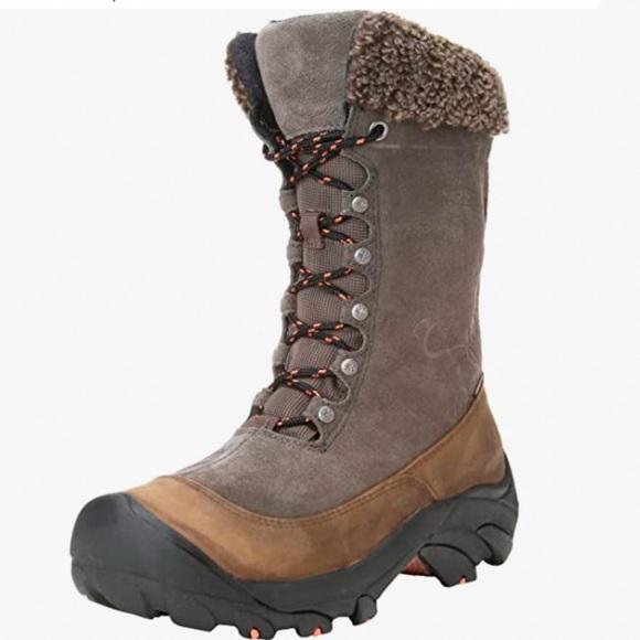 KEEN Hoodoo waterproof winter boots, 8.